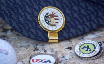 US Open 1999 Pinehurst #2 Ball Marker & Hat Clip