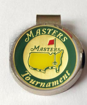 The Masters 2016 Green Tournament Ball Marker & Hat Clip