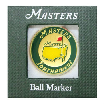 "The Masters "" Tournament ' Ball Marker - 2016 Green Trim"