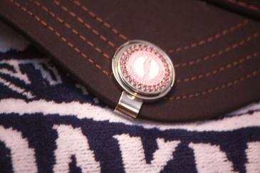 The Open Royal Liverpool 2014 Pink Bling Ball Marker & Hat Clip Special Buy