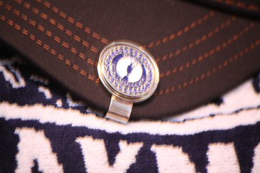The Open  Royal Liverpool Blue Bling | Ball Marker & Hat Clip
