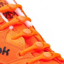 Hickies No Lie Laces - Sports / Golf- Orange - Match your Fashion