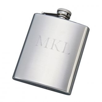 Stainless Steel Flask - Free Engraving