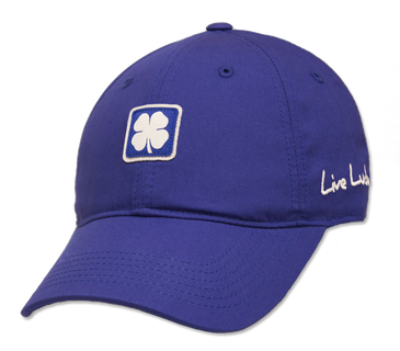 Black Clover Blue Lucky for You Golf Hat