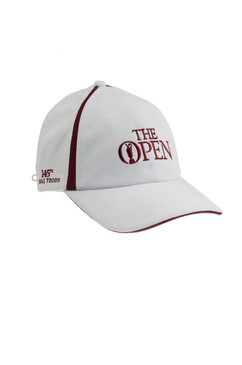 """ The Open 2016 White / Red Official Golf Hat"