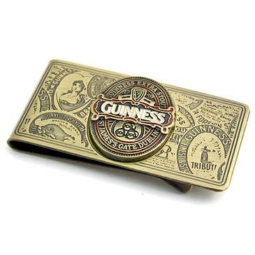 Guinness Brass Money Clip- Beautiful Gift - Official MC