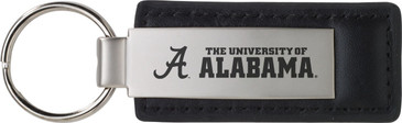University of Alabama Leather / Metal keytag