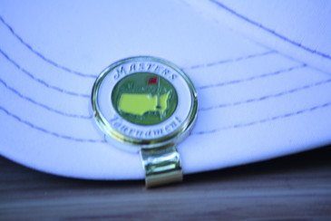 The Masters White Ball Marker & Hat Clip - Great Looking