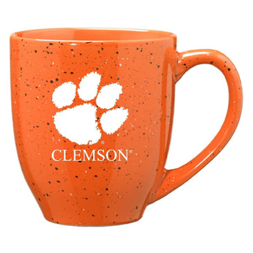 Clemson Speckled Orange Mug