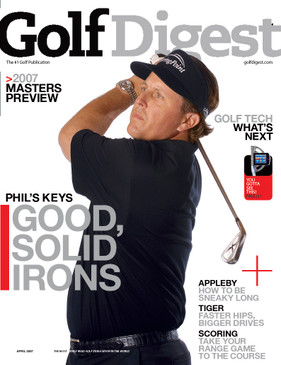Golf Digest Phil Mickelson Cover