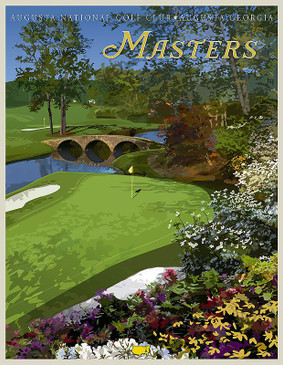 The Masters Vintage Poster