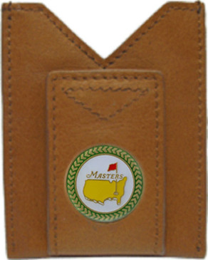 The Masters Leather Wallet & Money Clip