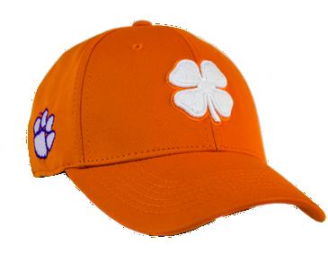 Clemson Orange Black Clover Hat - Licensed - Great Looking Hat