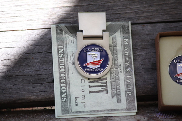 US Open 2019 Spring Loaded Money Clip