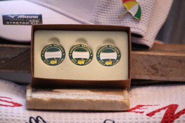 Masters Green Banner 3 pack Ball Marker