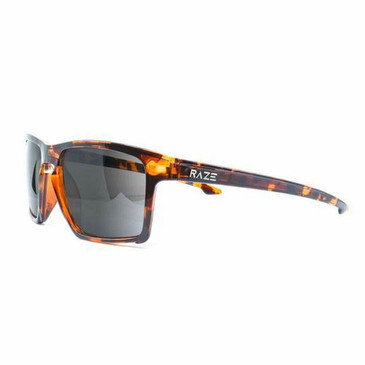 Raze Eyewear Journey Golf Sport Riding Sunglasses (Tortoise Smoked Lens)