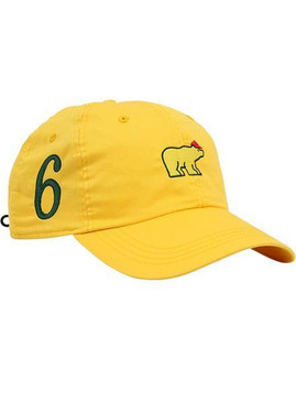 JNicklaus Yellow Major 6 Hat