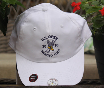 White US Open Hat Smaller Fit