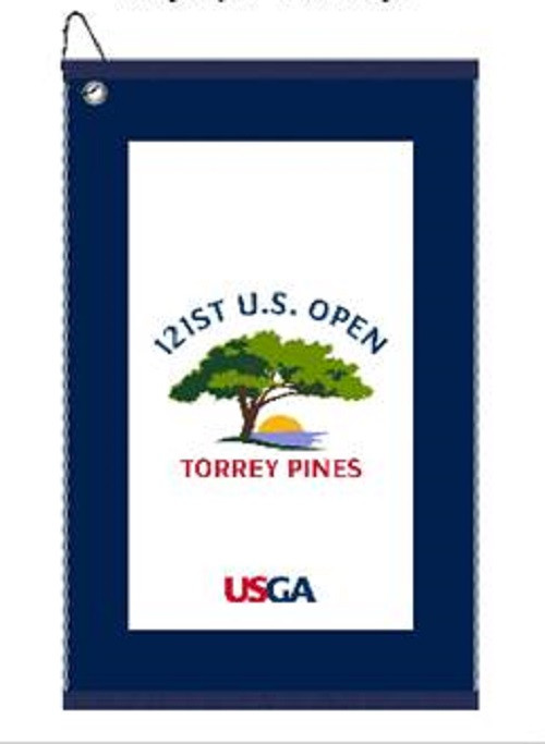 US Open 2021 Edge Towel