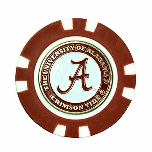 Alabama Poker Chip / Removable Ball Marker