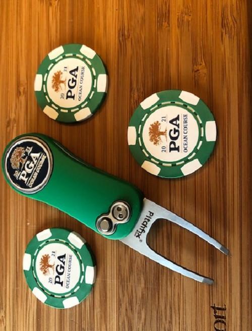 PGA Championship 2021 Kiawah Island Ocean Course Poker Chip