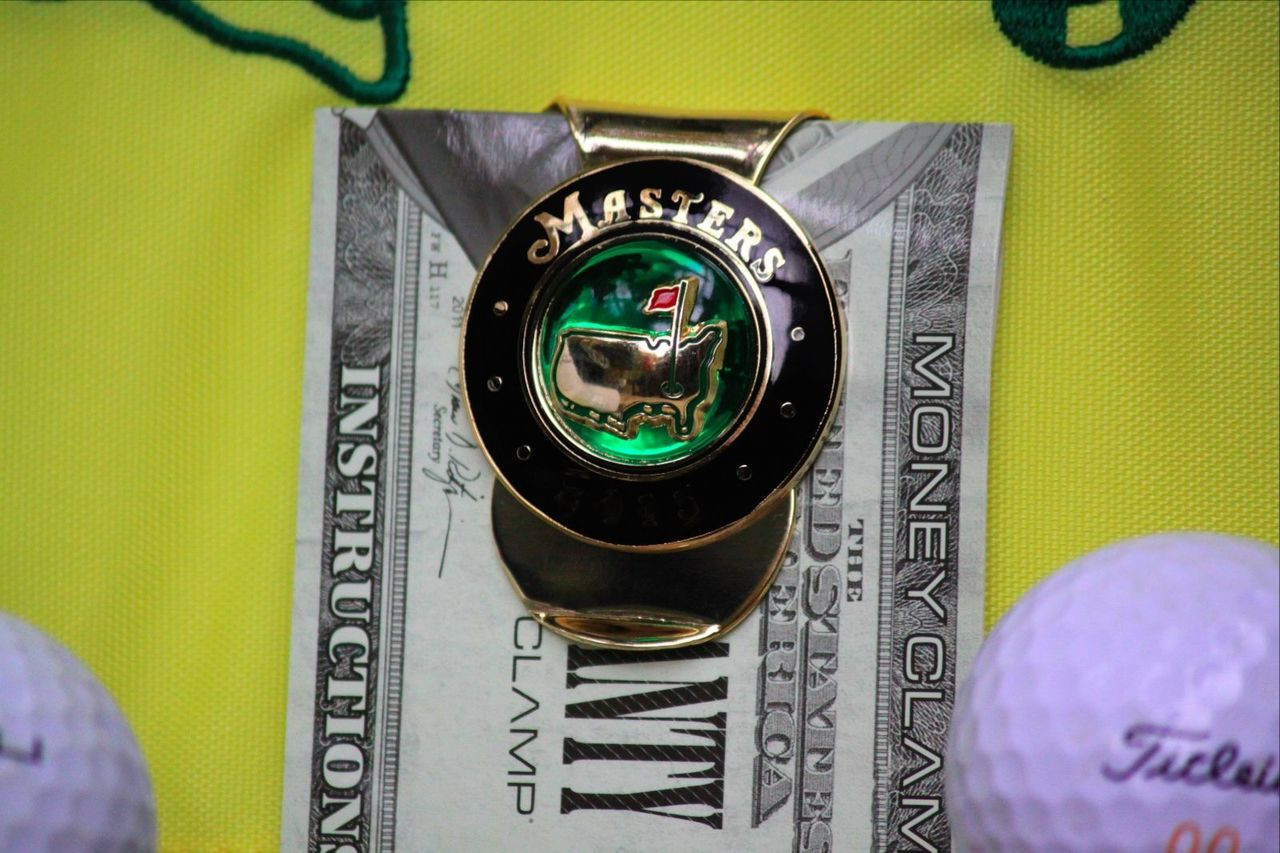 Augusta National Masters Money Clip  Free Shipping