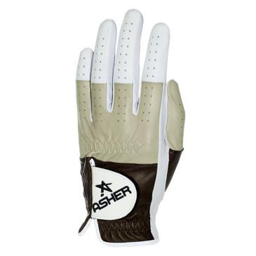 Asher's  Sandstone Premium Golf Glove Cool Tech! Free Martini