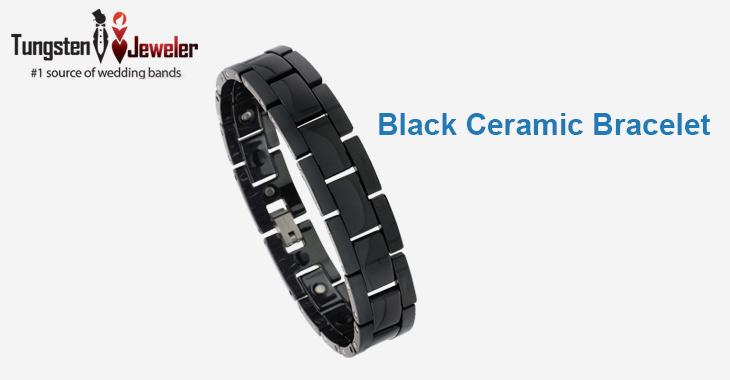 BLack Ceramic Bracelat