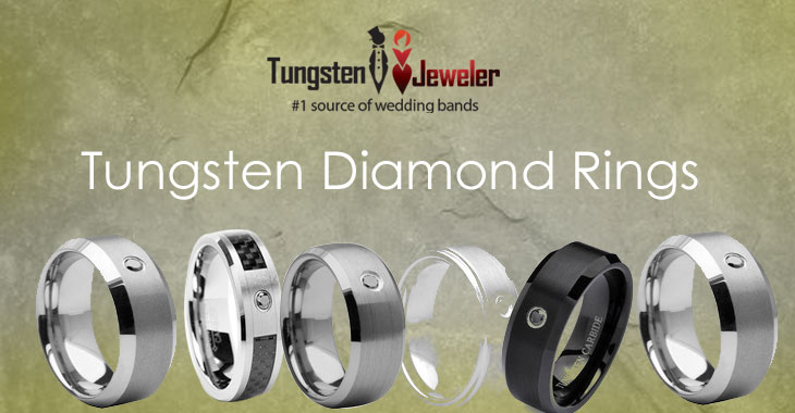 Tungsten Jeweler Rings