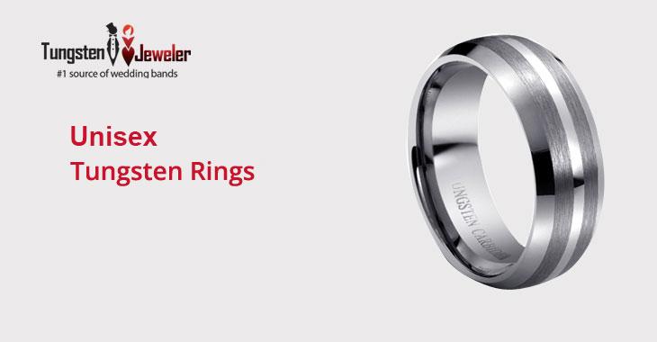 Unisex Tungsten Rings