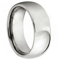 "Titanium Polished ""Wedding Band"" Ring"