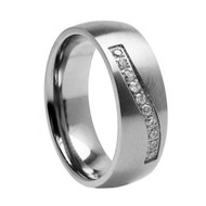 Titanium Wedding Band Ring ""