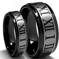His & Hers Tungsten Ring Laser Set