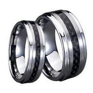 His & hers Carbon Fiber Tungsten Set