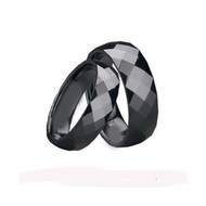 His & Hers Tungsten Scratch Resistant Ring Set