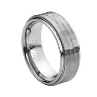 Tungsten Carbide Brushed Rings
