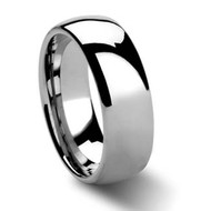 Domed Tungsten Rings