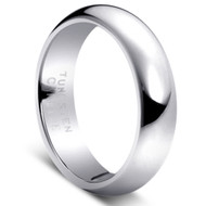"Tungsten Ring "" High Polished "" Tungsten Carbide"