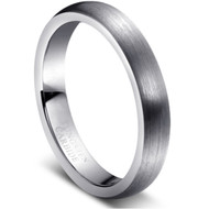 "Tungsten Ring ""Matte Finished"""