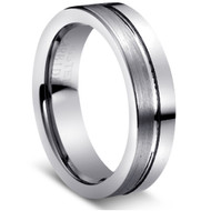 "TUNGSTEN RING"" Matte finish and High Polish"""