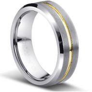 "TUNGSTEN RING ""MATTE FINISH """