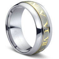 "Tungsten Ring "" High Polish & Matt Finish "" Stunning"