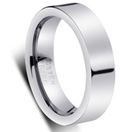 Domed Tungsten Ring wedding band