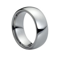 "Domed Tungsten ""Ring"""