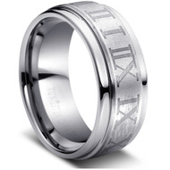 Tungsten Ring Matte & Polished