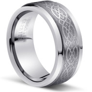 Tungsten Ring High Polish and Matt Finish