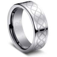 "Tungsten Ring ""Celtic Design """