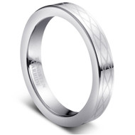 "Tungsten Ring ""High Polished """