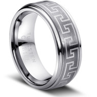 "Tungsten Ring"" Matte & polished """