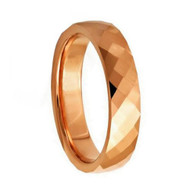 """Faceted """"Tungsten Ring"""""""